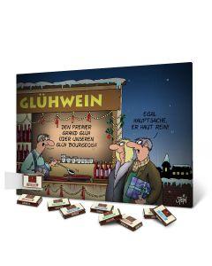 "Adventskalender - Motiv ""Glühwein"""