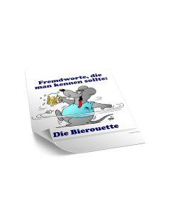 Poster 'Bierouette'